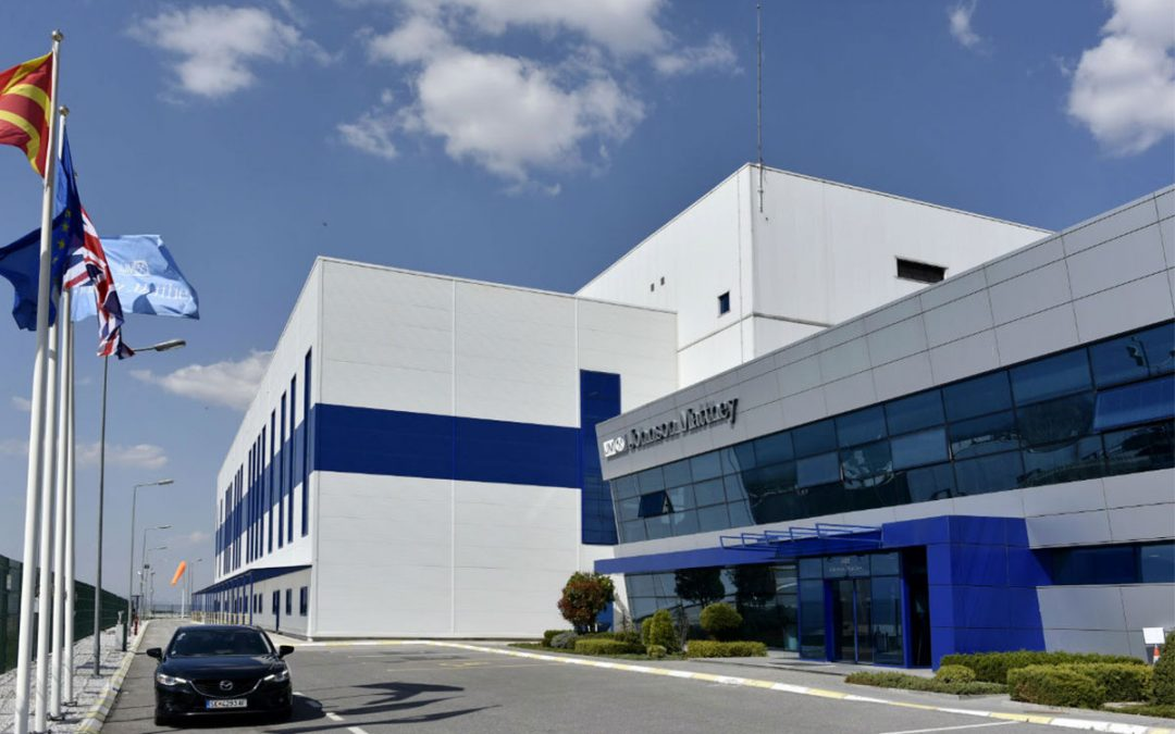 Macedonia – Production and distribution center for auto-catalyst products JOHNSON MATTHEY in Skopje