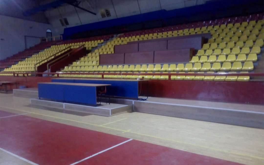 "Macedonia – Sports hall ""Biljanini Izvori"" in Ohrid"