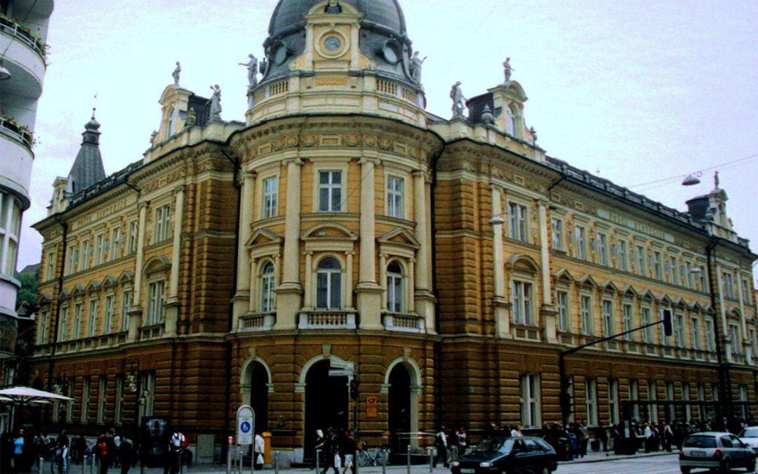 Slovenia – Post Center in Ljubljana